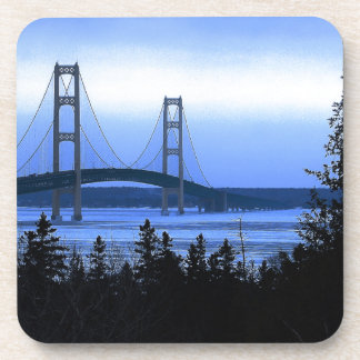 Mackinac Bridge Coaster