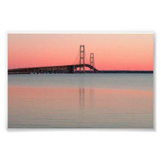 Mackinac Bridge, Michigan Photo Print