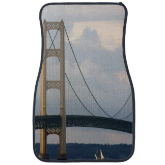 Mackinac Bridge, Michigan, USA Car Mat