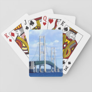 """Mackinac Bridge Playing Cards"" Playing Cards"
