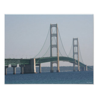 Mackinac Bridge Poster