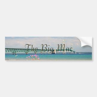 "Mackinac Bridge ""The Big Mac"" Bumper Stickers"