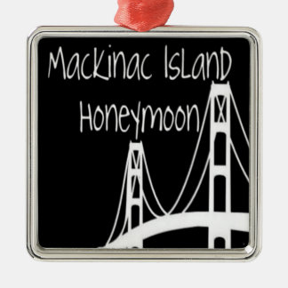 Mackinac Island Honeymoon Christmas Ornament