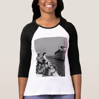 Mackinac Islander at the Dock T-Shirt