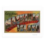 Mackinac, Michigan - Large Letter Scenes Post Card