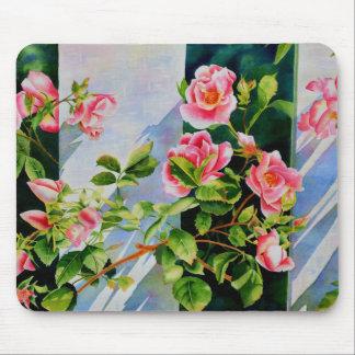 Mackinac Rose Mouse Pad