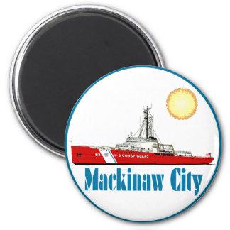 Mackinaw City Michigan Magnet
