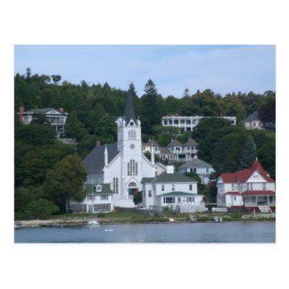 Mackinaw Island Postcard