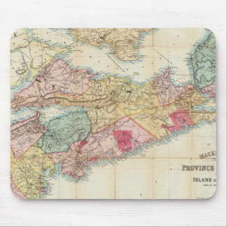 Mackinlay's map of the Province of Nova Scotia 2 Mouse Mat