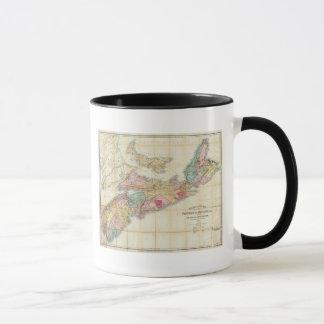 Mackinlay's map of the Province of Nova Scotia 2 Mug
