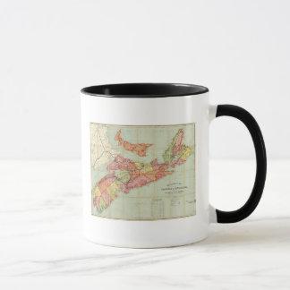 Mackinlay's map of the Province of Nova Scotia 4 Mug