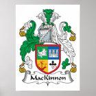 MacKinnon Family Crest Poster
