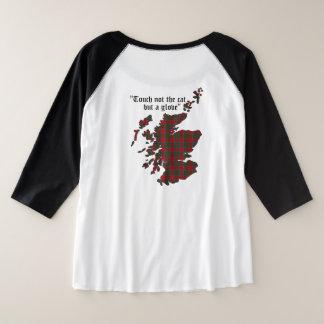 Mackintosh Clan Women's Plus Size Raglan T-Shirt