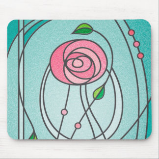 Mackintosh Rose Mouse Mat