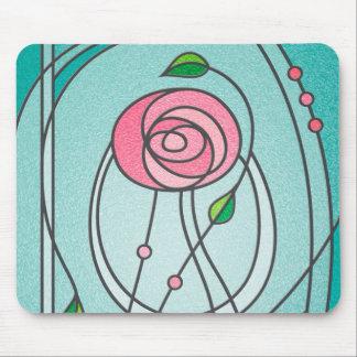 Mackintosh Rose Mouse Pad