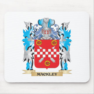 Mackley Coat of Arms - Family Crest Mouse Pad