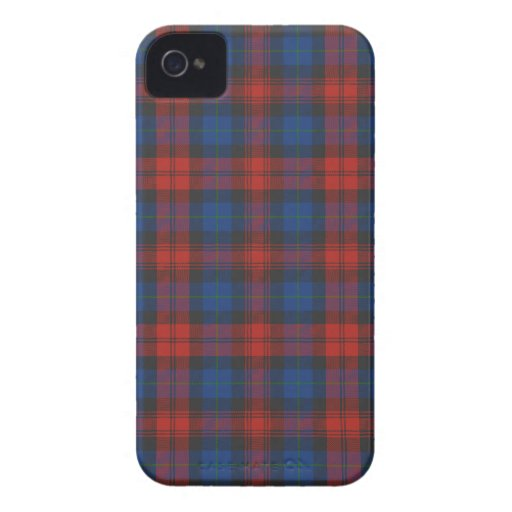 MacLachlan / McLaughlin Tartan iPhone 4/4S Case iPhone 4 Cases