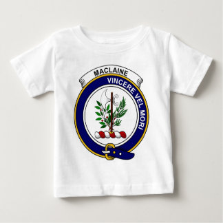 MacLaine (of Lochbuie) Clan Badge Baby T-Shirt