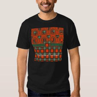 Maclaine of Lochbuie clan Plaid Scottish tartan T-shirts