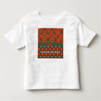 Maclaine of Lochbuie clan Plaid Scottish tartan Toddler T-Shirt