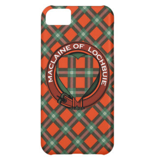Maclaine of Lochbuie Scottish Tartan iPhone 5C Case