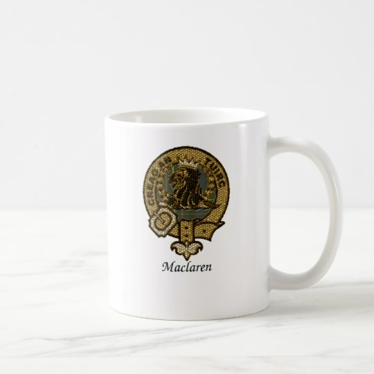 Maclaren Clan Crest Coffee Mug