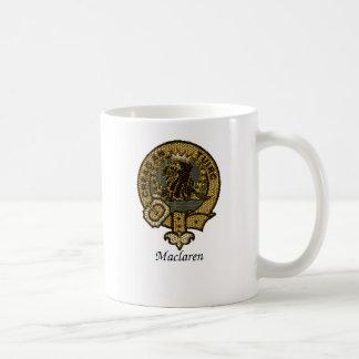 Maclaren Clan Crest Basic White Mug