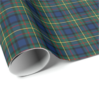 MacLaren Clan Tartan Wrapping Paper