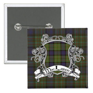 MacLaren Tartan Shield 15 Cm Square Badge