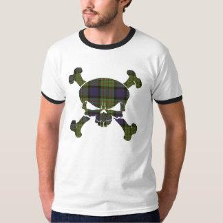 MacLaren Tartan Skull No Banner T-Shirt