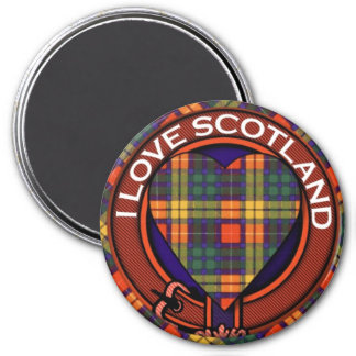 MacLea clan Plaid Scottish kilt tartan Magnet