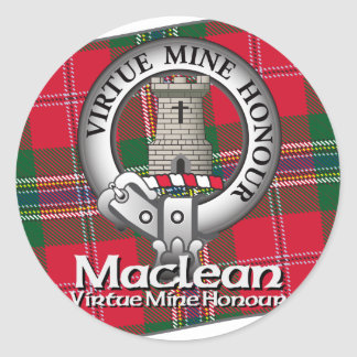 Maclean Clan Sticker