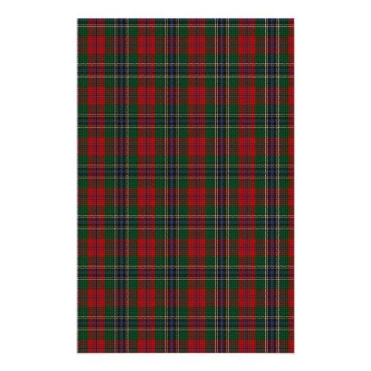MacLean / McLean Clan Family Tartan Customised Stationery