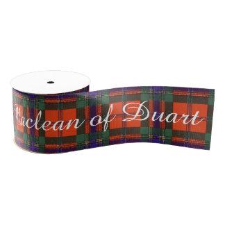 Maclean of Duart Plaid Scottish tartan Grosgrain Ribbon