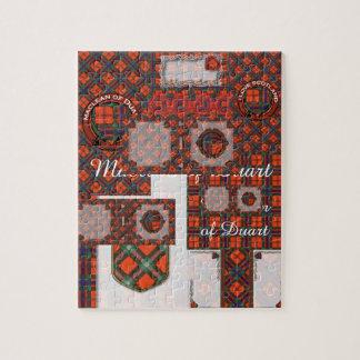 Maclean of Duart Plaid Scottish tartan Jigsaw Puzzle