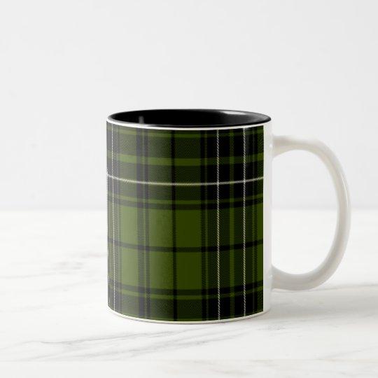 Maclean Scottish Tartan Two-Tone Coffee Mug