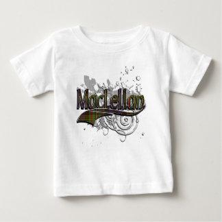 MacLellan Tartan Grunge Baby T-Shirt