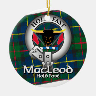 MacLeod Clan Christmas Ornament