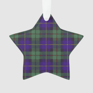 Macleod of Harris clan Plaid Scottish tartan Ornament