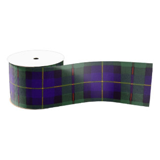 Macleod of Harris clan Plaid Scottish tartan Grosgrain Ribbon