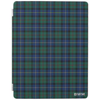 MacLeod of Skye Clan Tartan Monogram iPad Cover