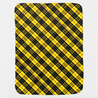 MacLeod Scottish Clan Tartan Baby Blanket