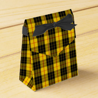 Macleod Scottish Clan Tartan Wedding Favour Boxes