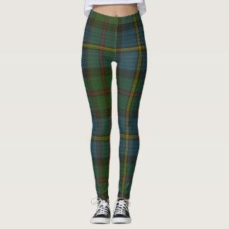 MacLeod Tartan Clan Plaid Leggings