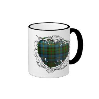 MacLeod Tartan Heart Ringer Mug