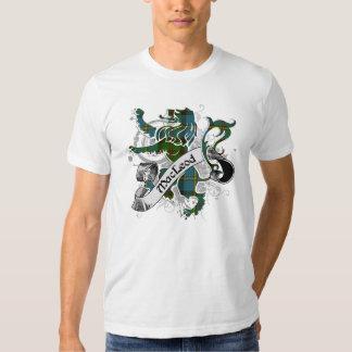 MacLeod Tartan Lion T Shirts