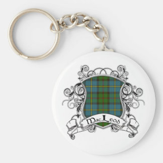 MacLeod Tartan Shield Key Ring
