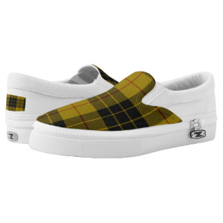 MacLeod Tartan Slip On Shoes