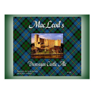 MacLeod's Dunvegan Castle Ale Postcard