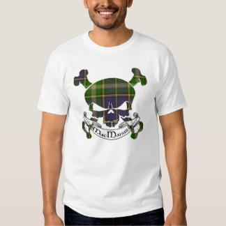 MacManus Tartan Skull Tee Shirts